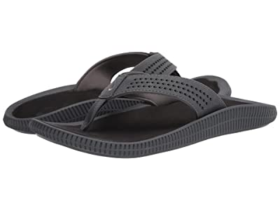 OluKai Ulele (Dark Shadow/Black) Men