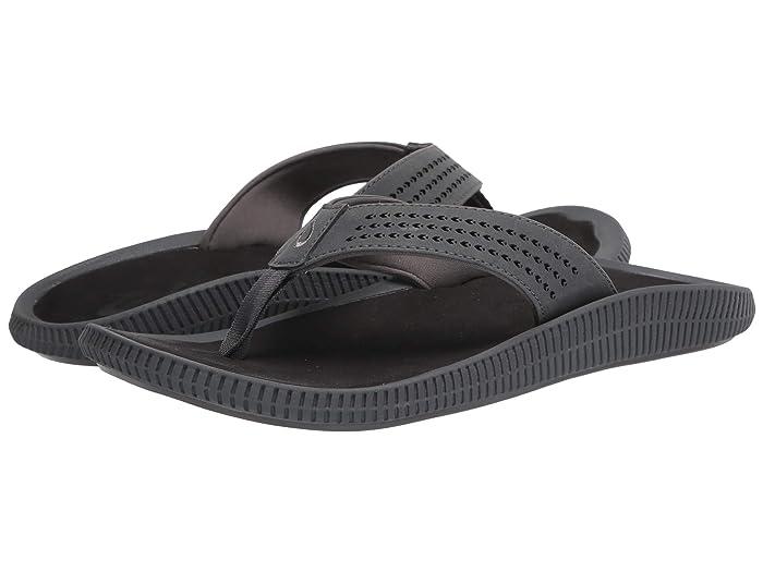 Ulele  Shoes (Dark Shadow/Black) Men's Sandals