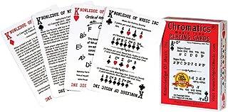 Hal Leonard Chromatics Music Playing Card Deck