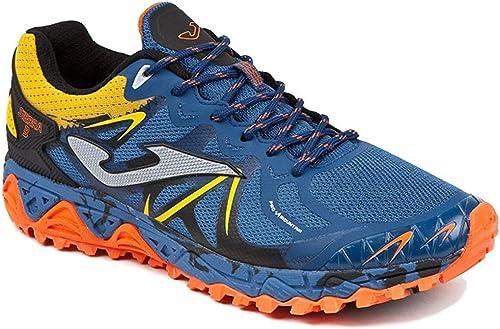 Sportime2 Herren Traillaufschuhe grau-Arancione