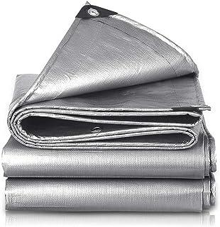 Heavy Duty Tarp, Waterproof and Anti-Aging, Carport, Tent, Blackout Cloth, 100% Waterproof, Anti-Ultraviolet for Garden Sw...