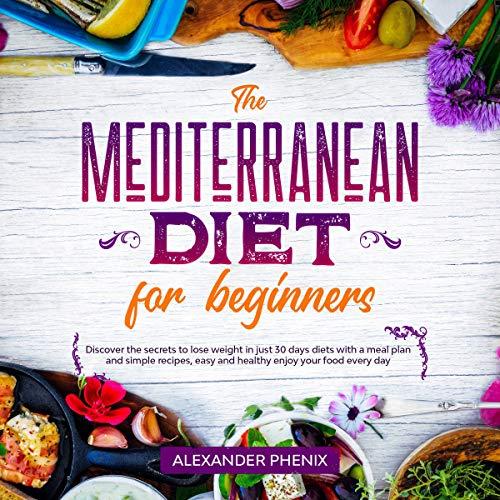 The Mediterranean Diet for Beginners audiobook cover art