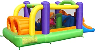 Happy Hop Inflatable Obstacle Bouncer With Slide