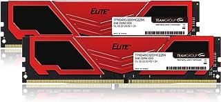 TEAM DDR4 3200Mhz PC4-25600 8GBx2枚(16GBkit)デスクトップ用メモリ Elite Plus シリーズ 日本国内無期限保証(永久保証)正規品