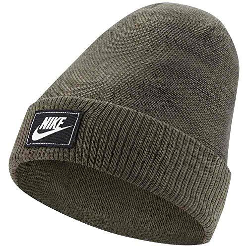 Nike Sportswear Futura - Gorro unisex, color verde oliva