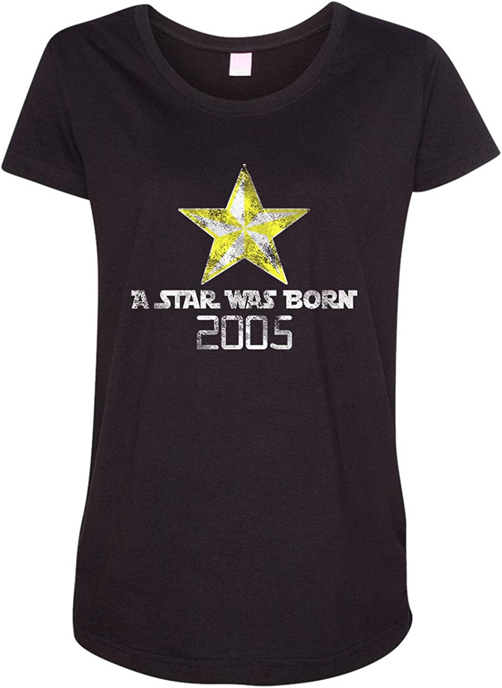 HARD EDGE DESIGN Women's A Star was Born 2005 T-Shirt