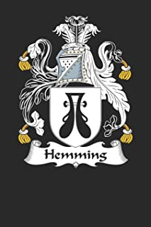 Hemming: Hemming Coat of Arms and Family Crest Notebook Journal (6 x 9 - 100 pages)