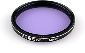 SVBONY Telescope Filter Moon Filter Telescope Filter for Standard 2 inches FIilter Thread with Metal Frame Optical Glass f...