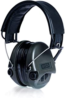 MSA Sordin Supreme Pro - Electronic Earmuff for Hunting & Shooting, incl. comfortable gel-seals