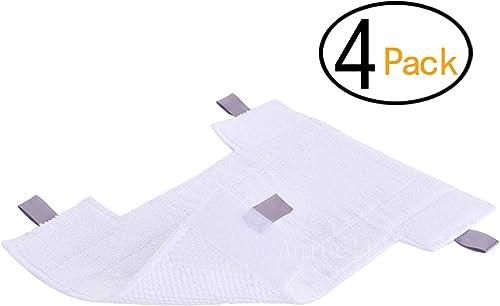 4 Pack for Shark Replacement Washable Microfiber Hv300 Series Pads for Shark Dust-Away, Rotator, Navigator Lift-Away ...
