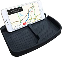 Topfit Silicone Anti-Slip Dashboard Mat, Non-Slip Dash Pad Universal Car Mount Phone Holder Stand for GPS Key Rings Sunglasses Coins Navigation Cell Phone.