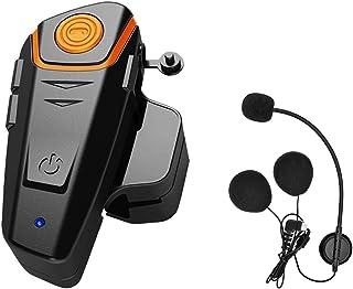 KOEITT BT S2 Intercomunicador Casco Moto,Auriculares Bluetooth para Motocicleta, 1000 m, Bluetooth, Sistemas de comunicaci...