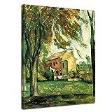 Bilderdepot24 Bild auf Leinwand | Paul Cézanne Jas de