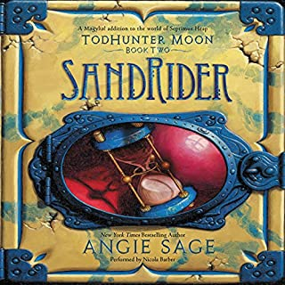 TodHunter Moon, Book Two: SandRider audiobook cover art