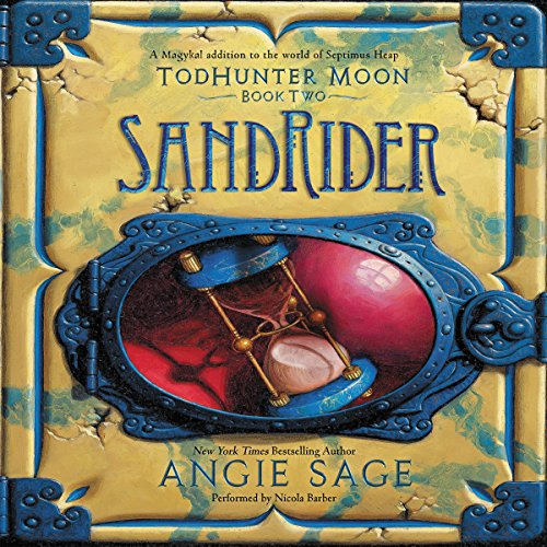 TodHunter Moon, Book Two: SandRider cover art