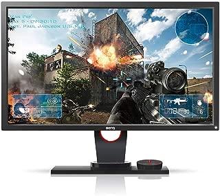 """Monitor Gamer BenQ Zowie XL2430 de 24"""" 144Hz, Conexão Display Port, Lag-Free, Black Equalizer, S-Swtich, Low Blue Light e Ajuste de Altura, Grafite Fosco"""