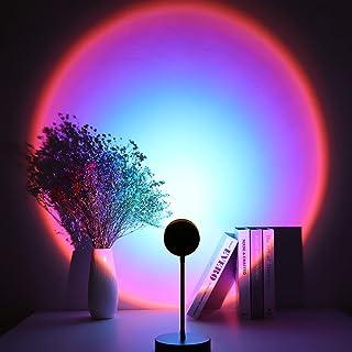 Lámpara de puesta de sol, Speclux 4 W, proyector de puesta del sol, luz romántica ambiental, luz USB, luz de noche, luces ...