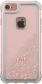 Ballistic Jewel Essence Case for Standard Size 4.7-Inch Apple iPhone 8/7/6S/6 - Clear/Rose Gold - Not Compatible with iPhone Plus 5.5-Inch Screen Size Smartphones