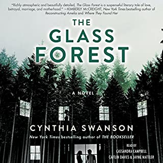 The Glass Forest audiobook cover art