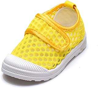 RVROVIC Kids Slip-on Breathable Mesh Sneakers Summer Beach Water Shoes Toddler/Little Kid