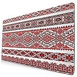 Custom Office Mauspad,Ukrainische Stickerei Ornament,Anti-Rutsch-Gummiunterseite Gaming-Mauspad-Matte Schreibtisch-Dekor 15,8 'x 29,5'