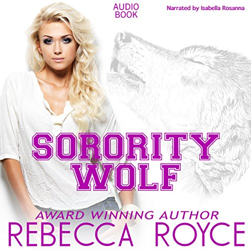 Sorority Wolf audiobook cover art