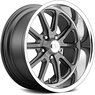 U.S. Mags U111 Сustom Wheel - Rambler Series Gunmetal with Diamond Lip 20