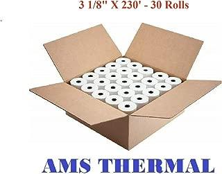 AMS Thermal Cash Register POS Paper Rolls 3 1/8