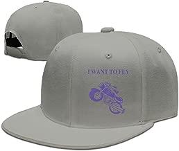 Fashion Bike Want To Fly Hiphop Baseball Cap Unisex