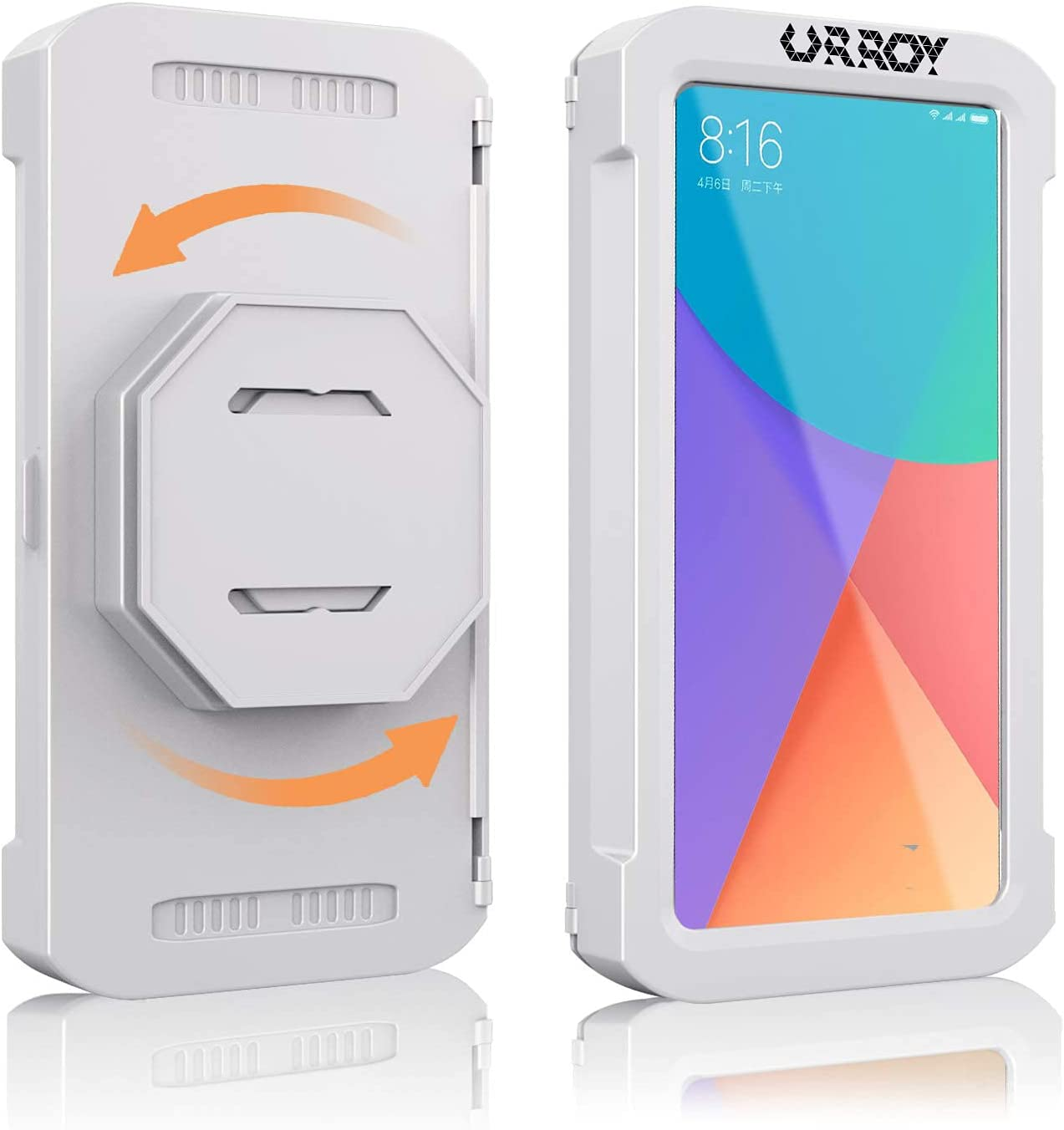 URROY 2021 Ranking TOP14 Upgrade At the price of surprise Shower Phone Holder Water 360° Rotation