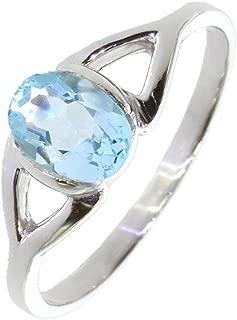 Jewelryonclick 3/carat Naturel Pierre pr/écieuse v/éritable rond aigue-marine Pendentif charm Argent sterling 925