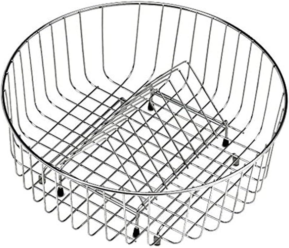 Teka accesorios fregadero - Cesta varilla redonda diámetro 350x145mm