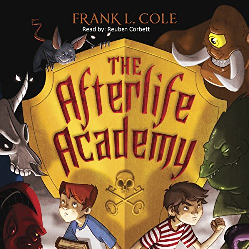 The Afterlife Academy audiobook cover art
