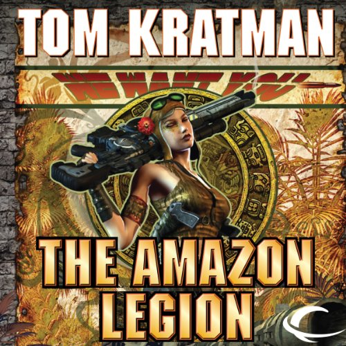 The Amazon Legion audiobook cover art