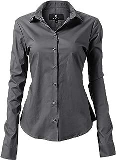 Best womens pinstripe button down shirt Reviews