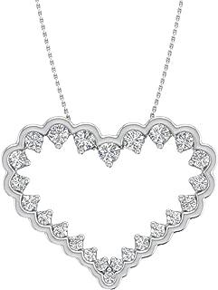 Best gold diamond heart locket Reviews