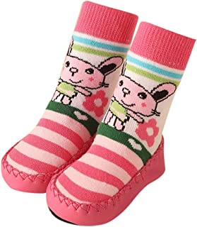 Boomboom Baby'Shoes Baby Infant Socks Rubber Sole First Walker Soft Cotton Ideal Baby Best Gifts