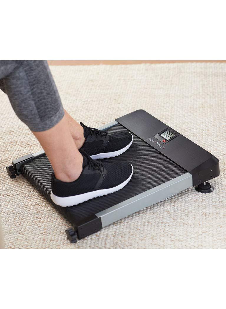 HomeTrack Walkingpad Mini Treadmill Sitting