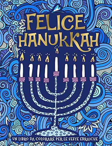 Un libro da colorare per le feste ebraiche: Felice Hanukkah