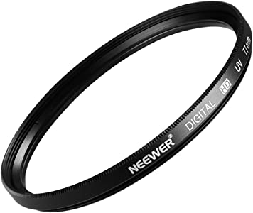 Neewer 77MM Lens Filter for CANON 24-105MM  10-22MM  17-40MM and NIKON...