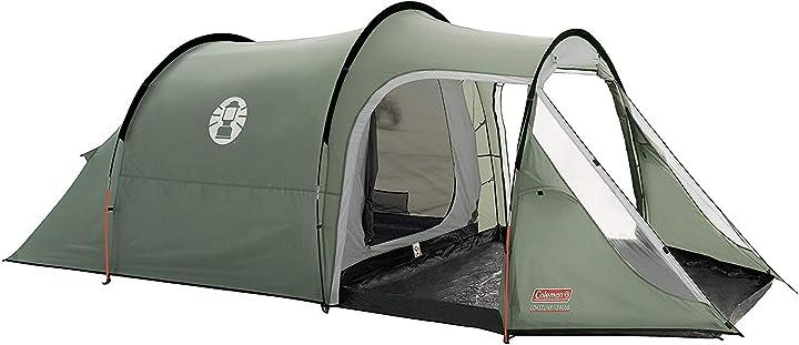 Tenda da campeggio coleman coastline 3 plus, tenda a 3 posti, tenda a tunnel da 3 persone 205111