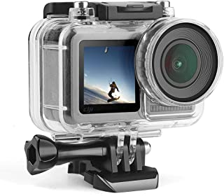 Underwater Housing for DJI OSMO Action Cam, Protective Diving Housing Shell 40m with Bracket Waterproof Case for DJI OSMO ...