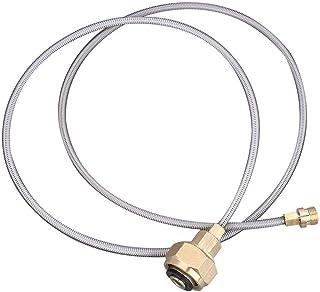 VGBEY Adaptador de la Estufa de Gas, Adaptador de la Cabeza del Tanque de Gas Convertidor de Recarga de Gas para la Comida campestre de Senderismo Cocina en casa
