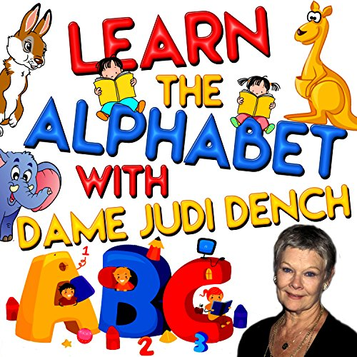 Couverture de Learn the Alphabet with Dame Judi Dench