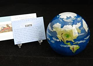 Glass Eye Studio Planet Earth Celestial Series Paperweight 519F