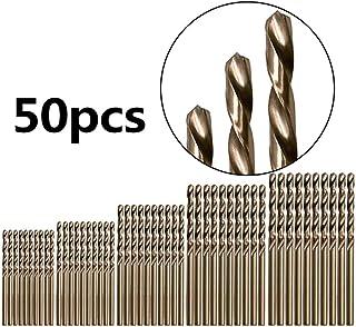 Gulakey 1.5-6.5mm High Speed Steel Titanium Coated Hex Shank Drill Bit Set