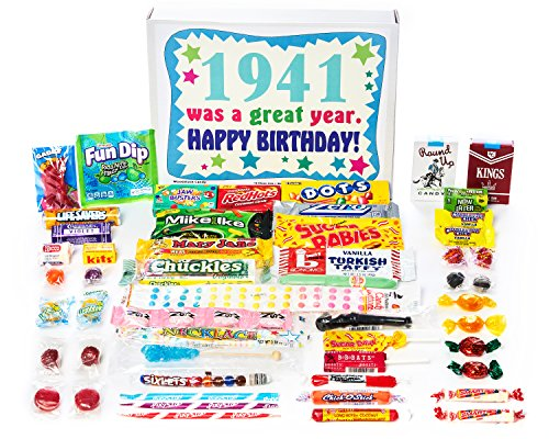 1941 Was a Great Year Candy Gift Basket - Ships Free