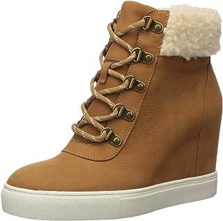 Kenneth Cole New York Women's Kam Hiker Wedge Cozy Sneaker