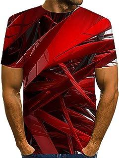 Camiseta de Hombre Camiseta Estampada Ropa de Hombre Ropa de Hombre 2020 Primavera y Verano Nueva Camiseta de Manga Corta