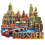 3D Dresden Deutschland Souvenir Kühlschrankmagnet Home & Küche Deko Magnetsticker Dresden Deutschland Kühlschrankmagnet Reise Souvenir Geschenk